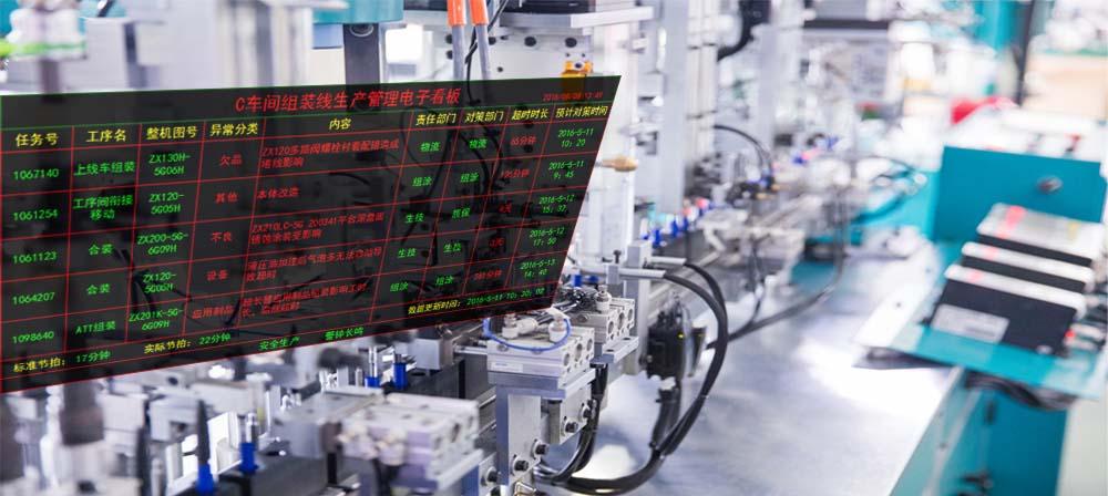 合肥迈斯-可视化电子看板
